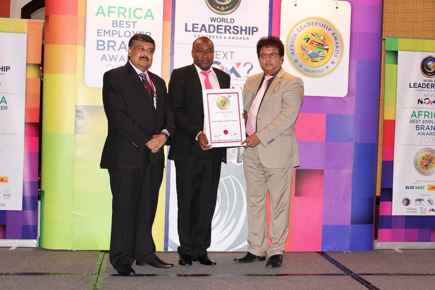 WORLD CSR CONGRESS AWARDS AICC