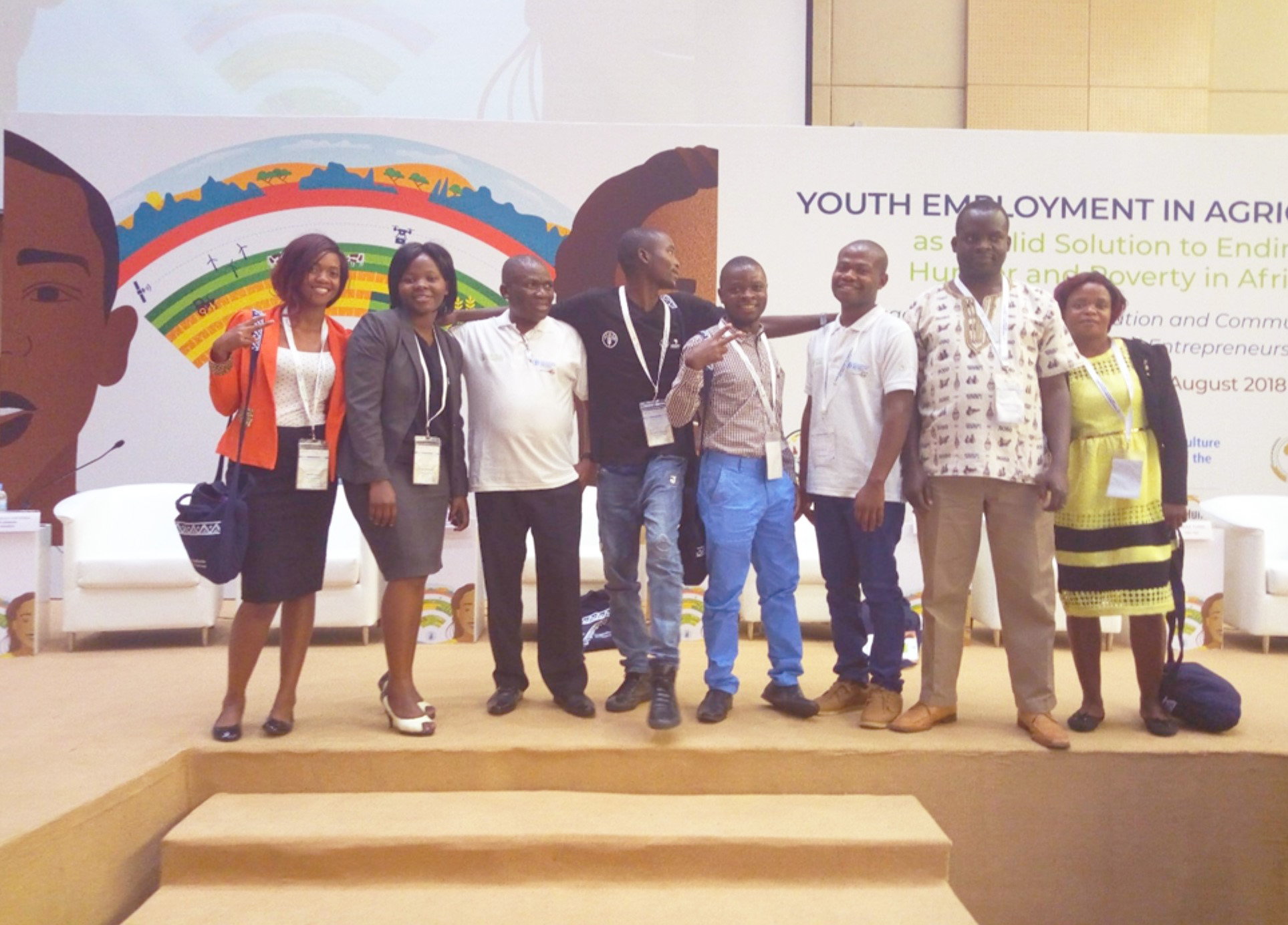 AICC through Legume Platform attended Youth employment in Agriculture